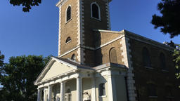 St Mary's church Battersea London UK 1a Footage