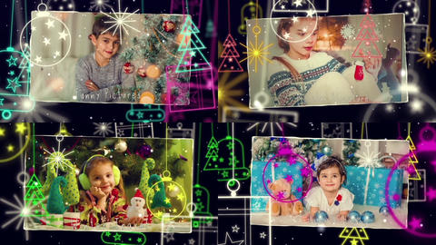 Merry Christmas & Happy New Year After Effects Template