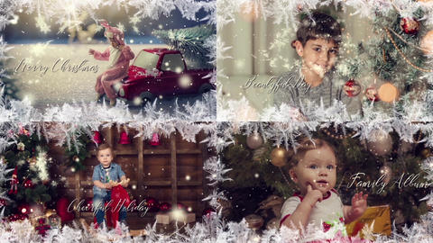 Magical New Year & Merry Christmas After Effects Template