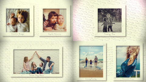 Creative Photo Gallery After Effects Template
