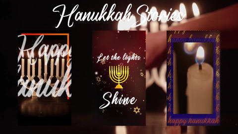 Hanukkah Stories After Effects Template