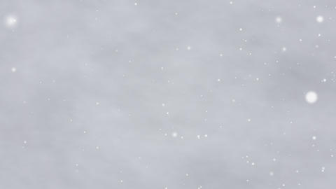 Snowstorm loop CG video Animation