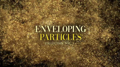 Glitter Particle Collection Enveloping Tool Vol1 After Effects Template