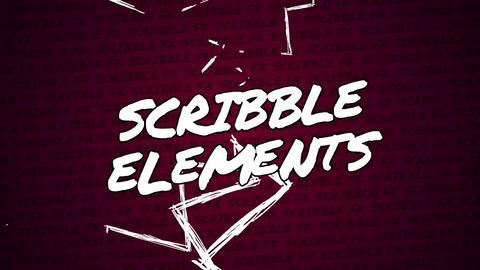 Final Cut Pro Scribble Elements Apple Motion Template