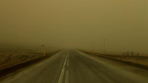 Inside the ash cloud of a volcanic eruption Live Action