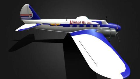 Boeing 247 d 3D Model