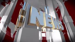 News Background Seamless Loop Animation