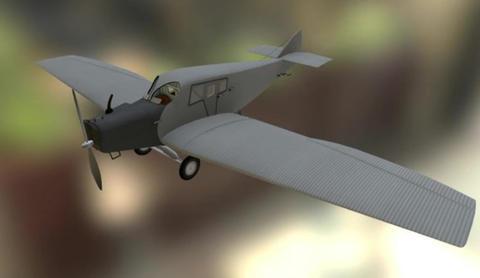 Junkers f13 3D Model