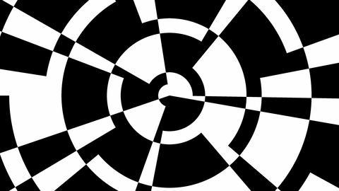 Rotating geometric shapes Animation