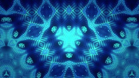Metal Stripes Kaleidoscope Animation