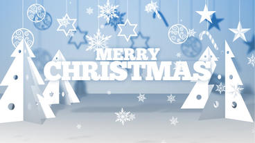 Paper Christmas Wishes After Effects Projekt