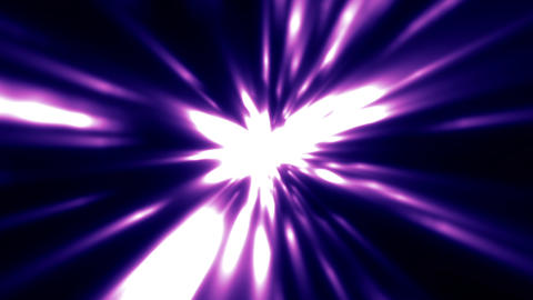 Blue Purple Light Rays Burst VJ Motion Background Loop roll left Animation