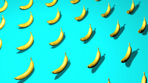 bananas background tropical background collage background bananas fruit tropical fruit Animation