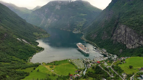Geiranger fjord norway beautiful nature norway natural landscape Live Action