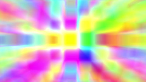 Disco Squares Colorful Glow Psychedelic Abstract VJ Motion Background Loop 1 Animation