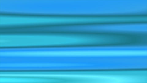 Blue Flowing Horizontal Lines Abstract Motion Background Loop Animation