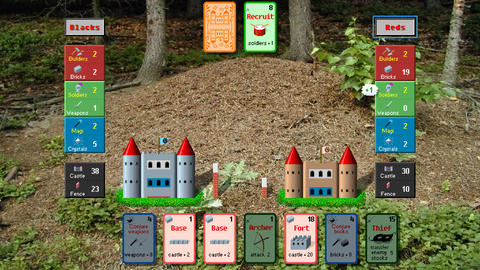 Ants, retro style low resolution pixelated card game graphics animation Animation