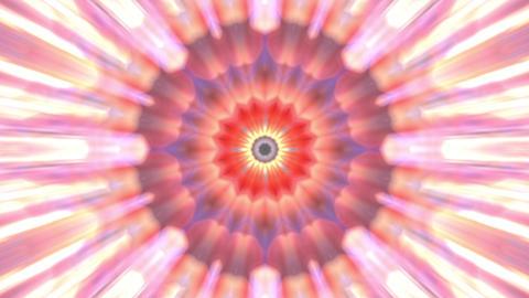 Radiating Rotating Rays Psychedelic Kaleidoscope Motion Background Loop 1 Animation