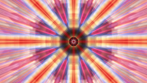 Radiating Rotating Rays Psychedelic Kaleidoscope Motion Background Loop 2 Animation