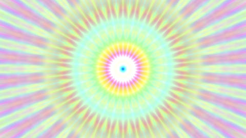 Colorful Burst Solar Kaleidoscope Mandala Fast VJ Motion Background Loop 1 Animation