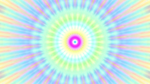 Colorful Burst Solar Kaleidoscope Mandala Fast VJ Motion Background Loop 2 Animation