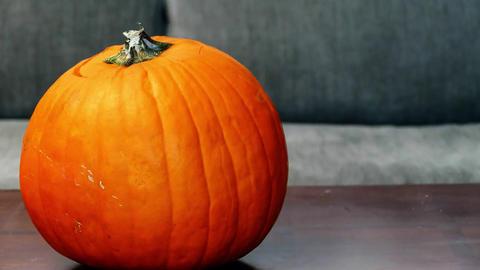 Pumpkin head dance Footage