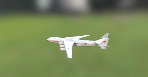 An 225 3D Model