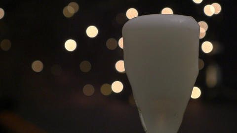 Glass overflow with Champagne Footage