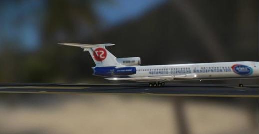 Tu154 m 3D Model