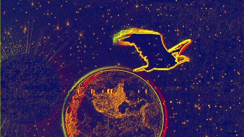 Eagle and Earth IV Animation