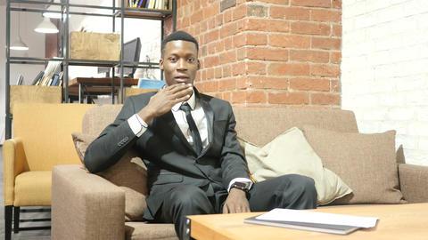 Shocked Businessman, Bad News , Gesture of disaster Footage