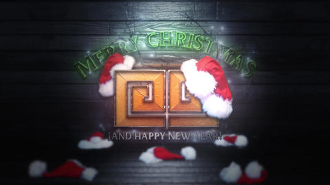 Christmas Tv Logo After Effects Template