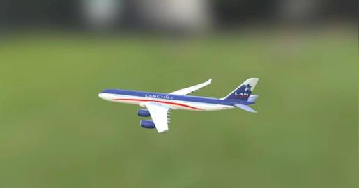 A 340 3D Model