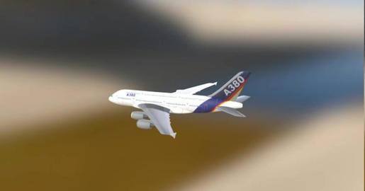 A 380 3D Model