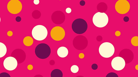Abstract Circle color pattern Background Animation