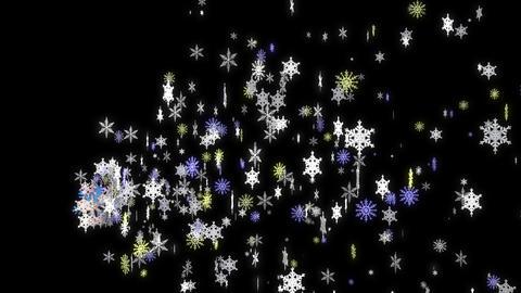 Birth Of Snowflakes Animation