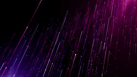 Particles pink violet event game trailer titles cinematic concert stage background loop Animation