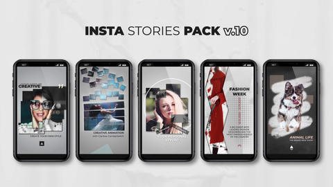 Insta Stories Pack v 10 After Effects Template