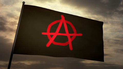 Anarchist flag 03 Animation