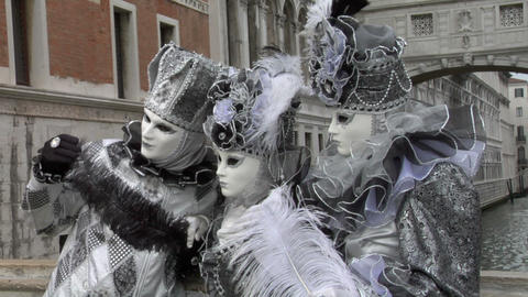 venetian mask 41 Stock Video Footage