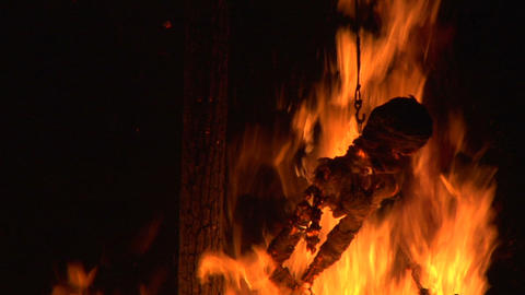 witch burn slow 06 Footage
