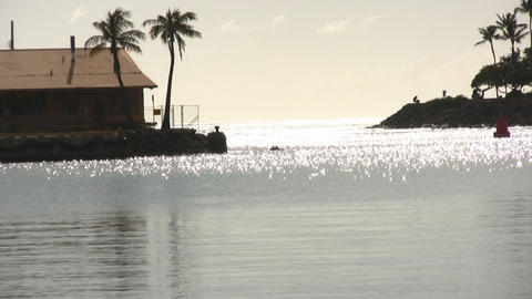 Ala Moana Beach 02 Footage