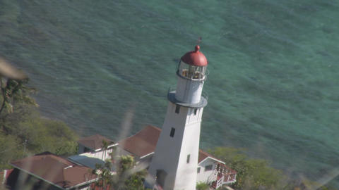 Diamond Head Lighthouse 03 Footage