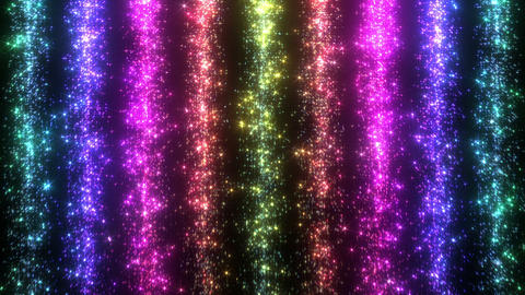 Light Water Fall 4 2 R HD Stock Video Footage