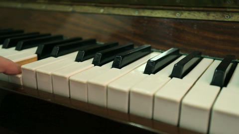 play piano Stock Video Footage