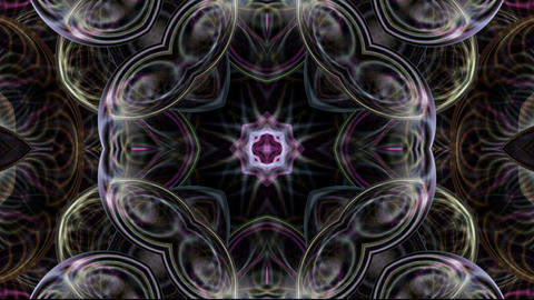 crystal glass floral texture,glassy flower pattern,gorgeous orient religion fanc Animation