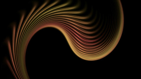 swirl lines,wave,abstract soft curve background,surge.romantic,material,particle Animation