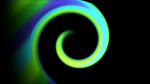 green curve,swirl thread ray light,circle,round,laser... Stock Video Footage