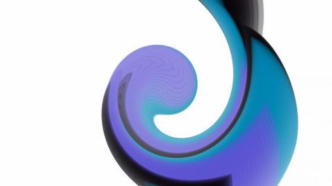 blue ocean waves,an ocean surf,swirl circle... Stock Video Footage