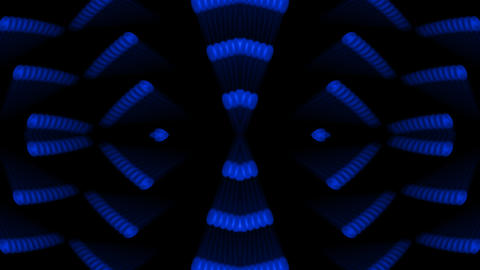 Ferris wheel,rotation blue metal gears,Stage lighting,industrial machinery.parti Animation